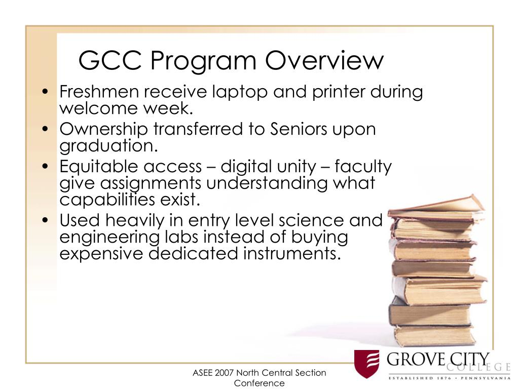GCC Program Overview
