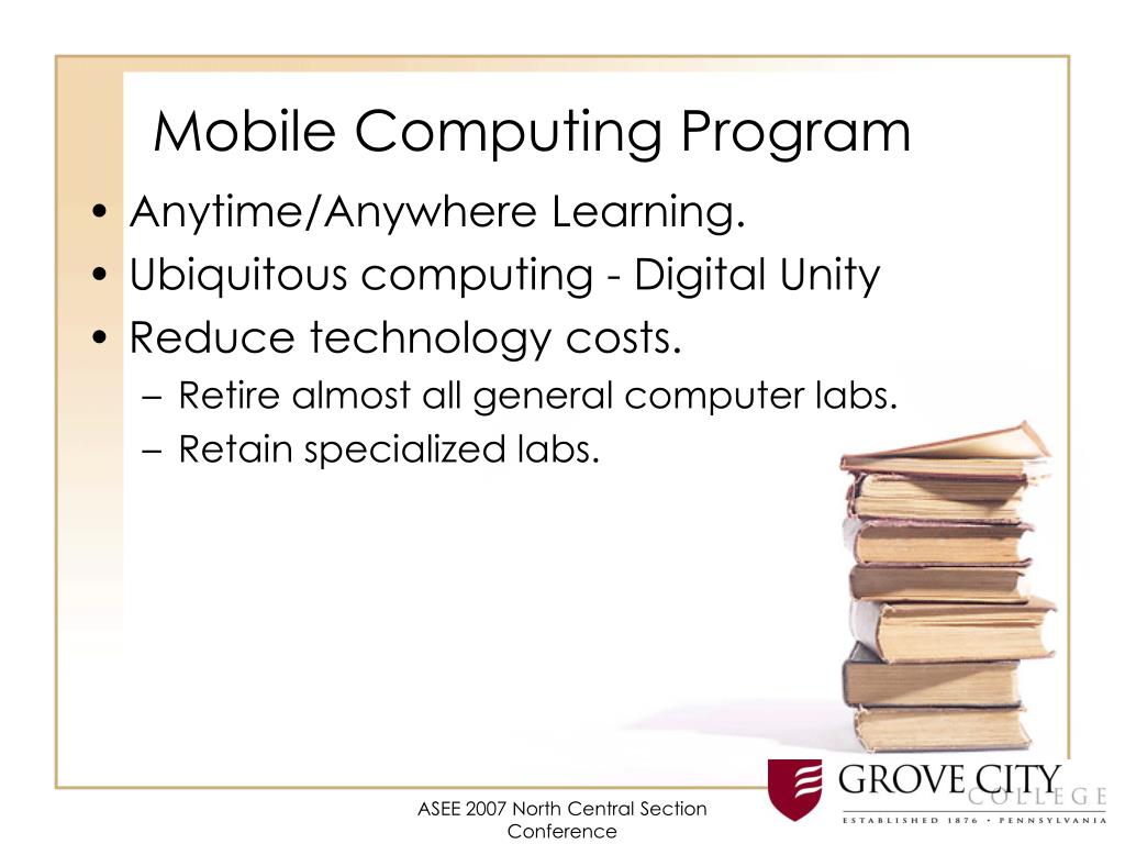 Mobile Computing Program