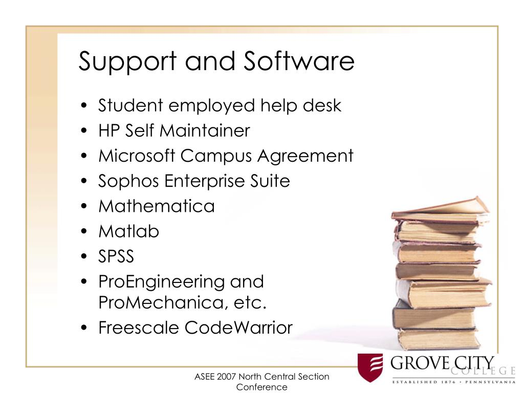 Support and Software