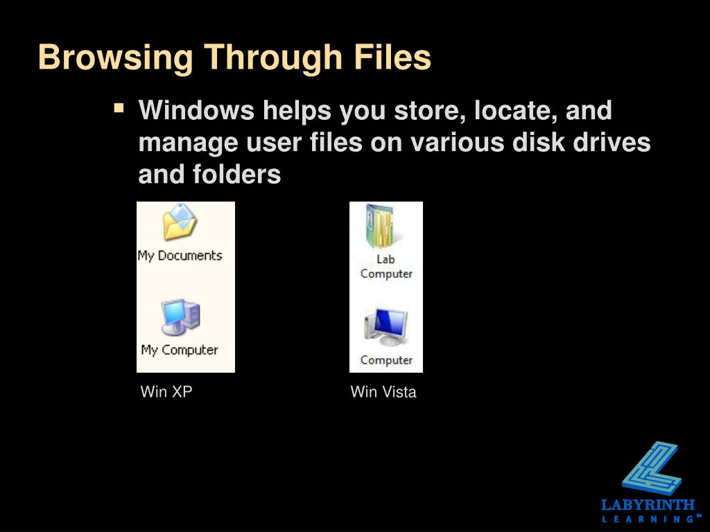 Browsing Through Files
