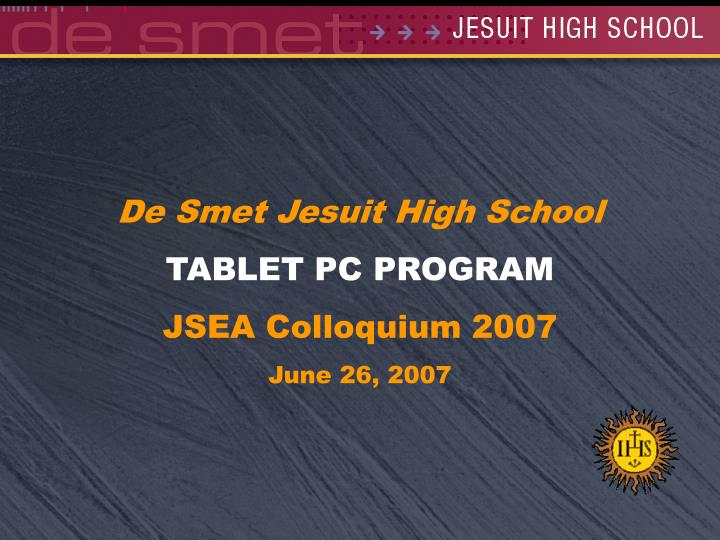 De Smet Jesuit High School