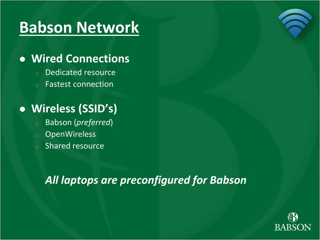 Babson Network