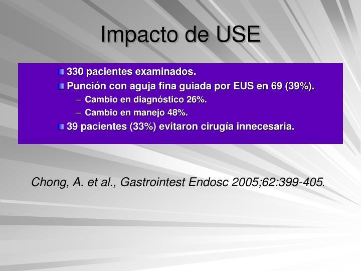 Impacto de USE
