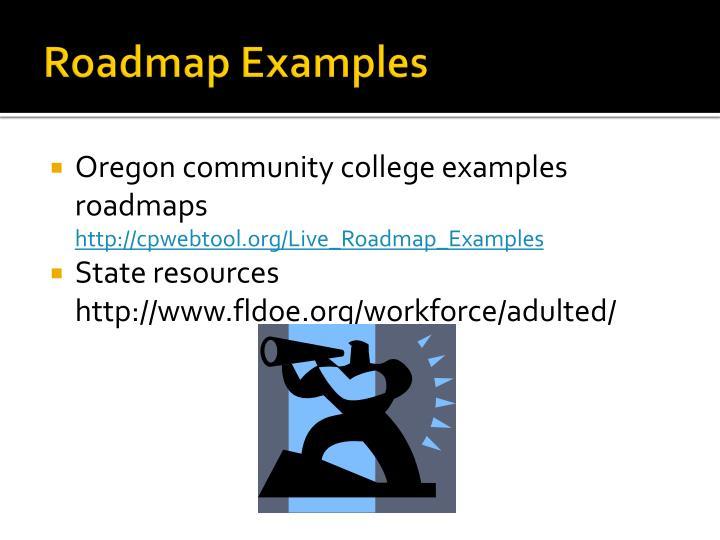 Roadmap Examples