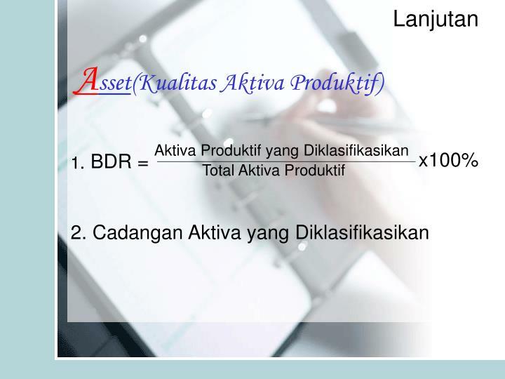 Aktiva Produktif yang Diklasifikasikan