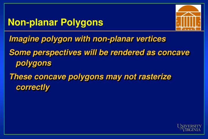 Non-planar Polygons