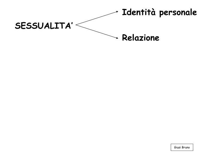 Identità personale