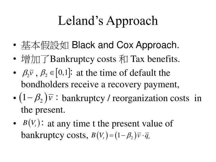 Leland's Approach