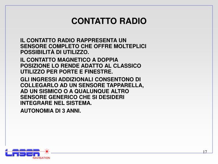 CONTATTO RADIO