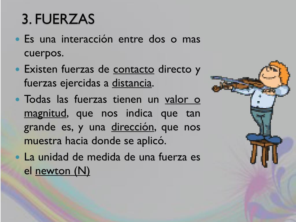 3. FUERZAS