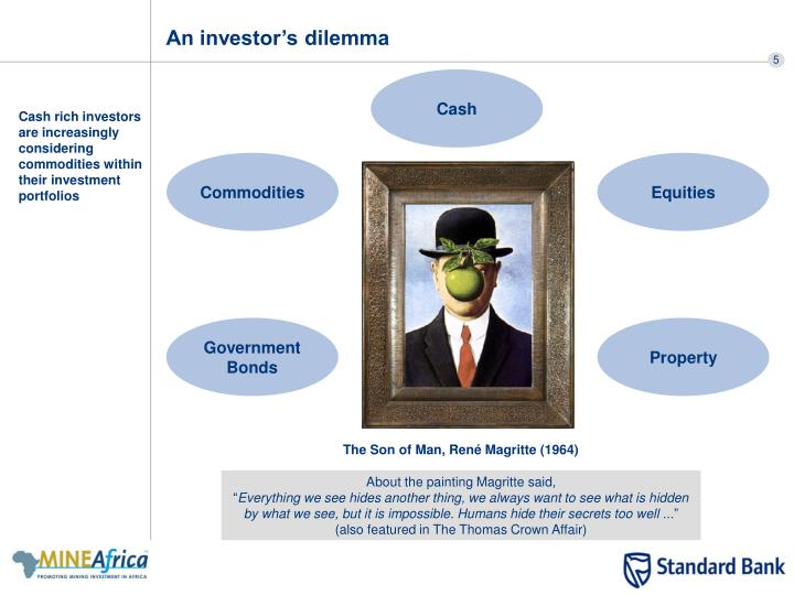 An investor's dilemma
