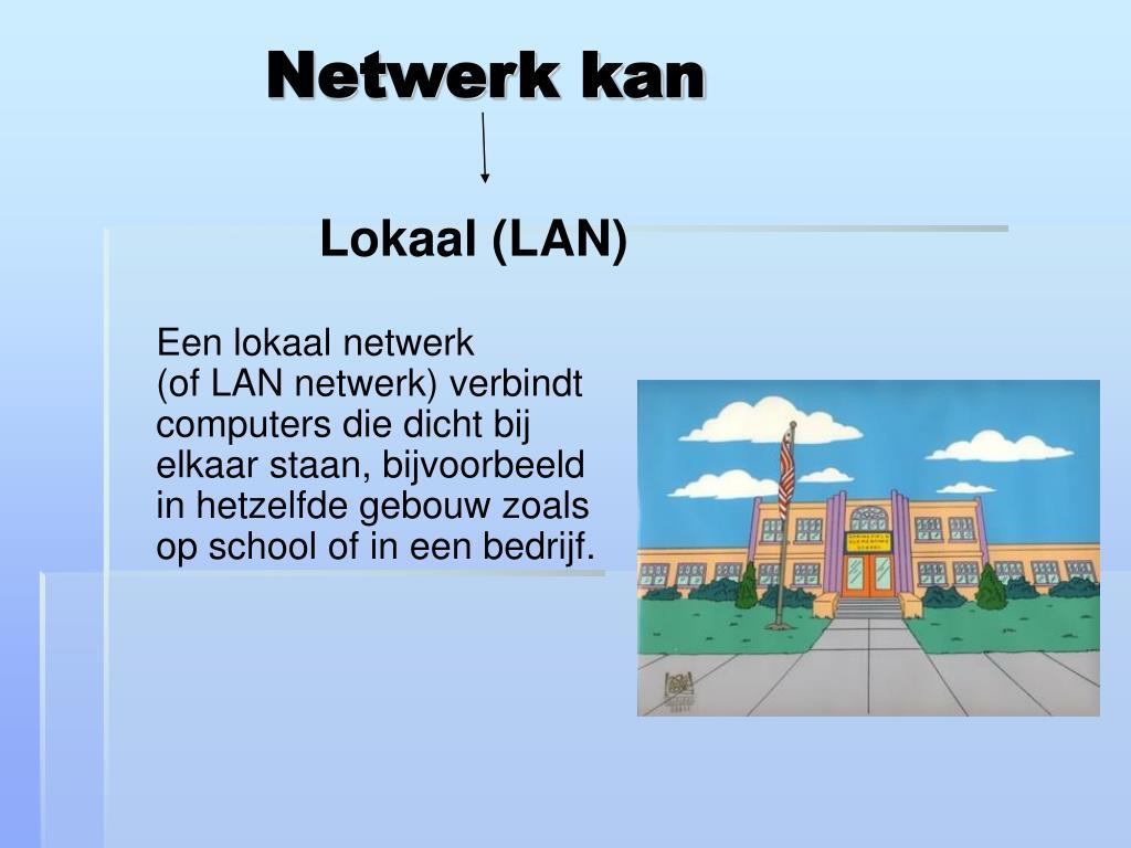 Netwerk kan