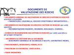 documenti di valutazione dei rischi