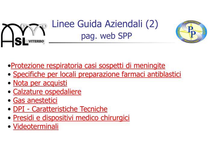 Linee Guida Aziendali (2)