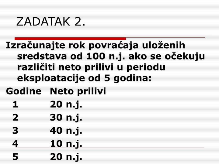 ZADATAK 2.