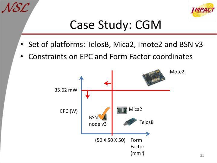 Case Study: CGM