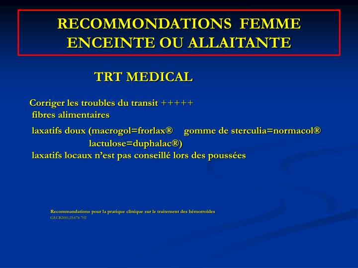 PPT - PATHOLOGIE ANALE AU COURS DE LA GROSSESSE PowerPoint