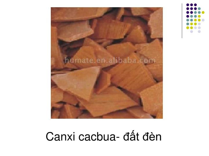 Canxi cacbua- đất đèn