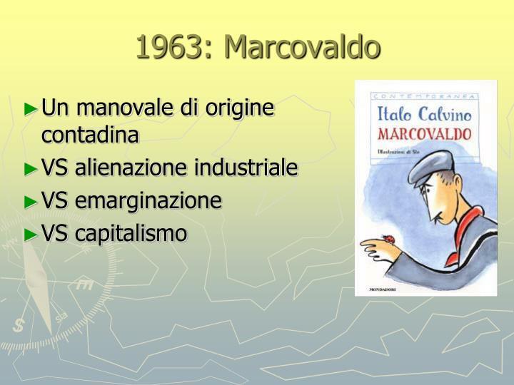 1963: Marcovaldo