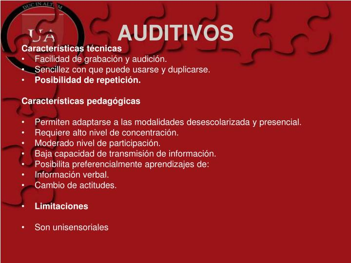 AUDITIVOS
