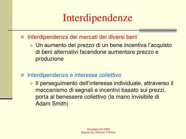 Interdipendenze