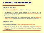 4 marco de referencia