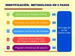 identificaci n metodologia en 5 pasos