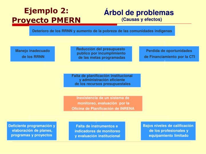 Ejemplo 2: Proyecto PMERN