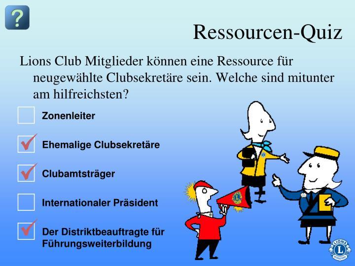 Lions Club Mitglieder können eine Ressource für neugewählte Clubsekretäre sein. Welche sind mitunter am hilfreichsten?