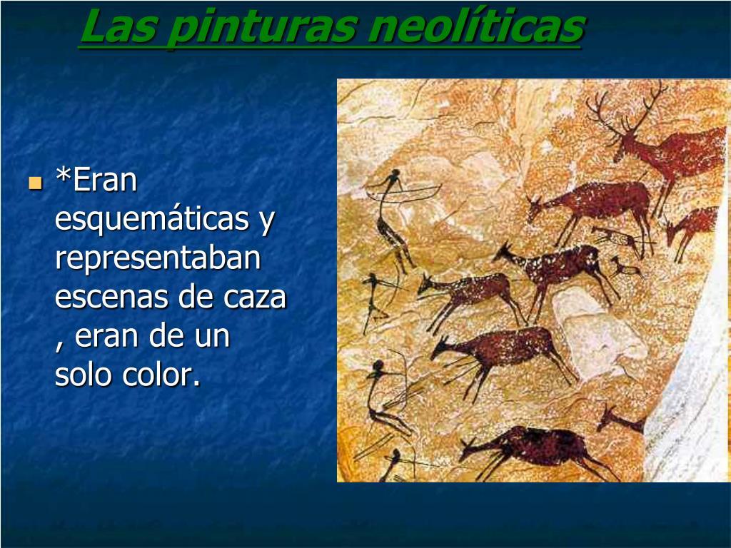 Las pinturas neolíticas