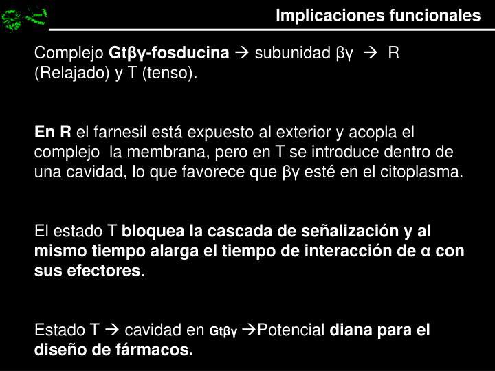Implicaciones funcionales