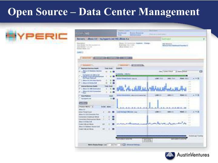 Open Source – Data Center Management