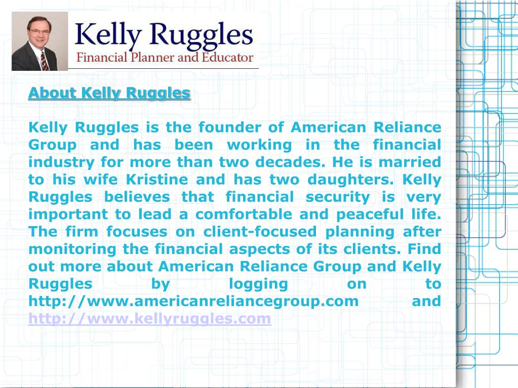 About Kelly Ruggles