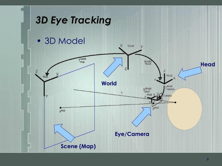 3D Eye Tracking