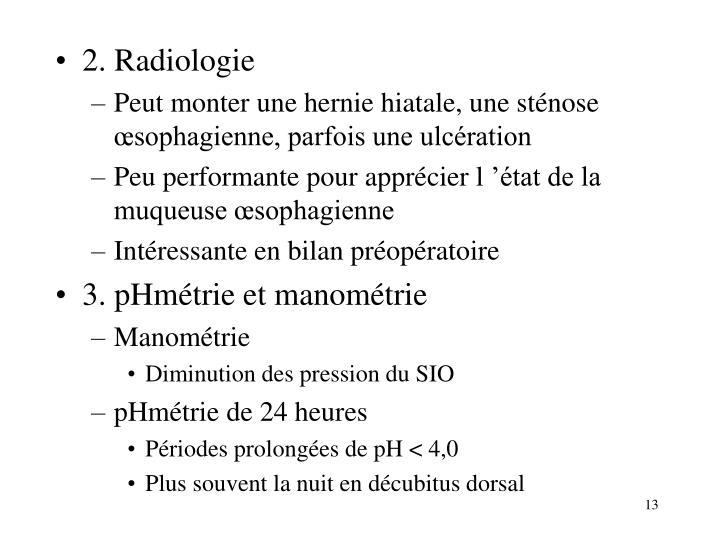 2. Radiologie