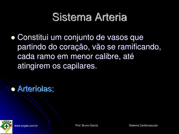 Sistema Arteria