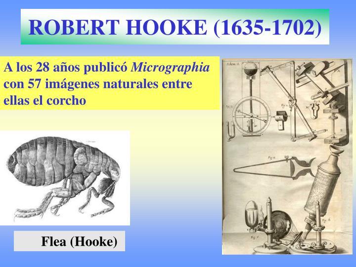 ROBERT HOOKE (1635-1702)