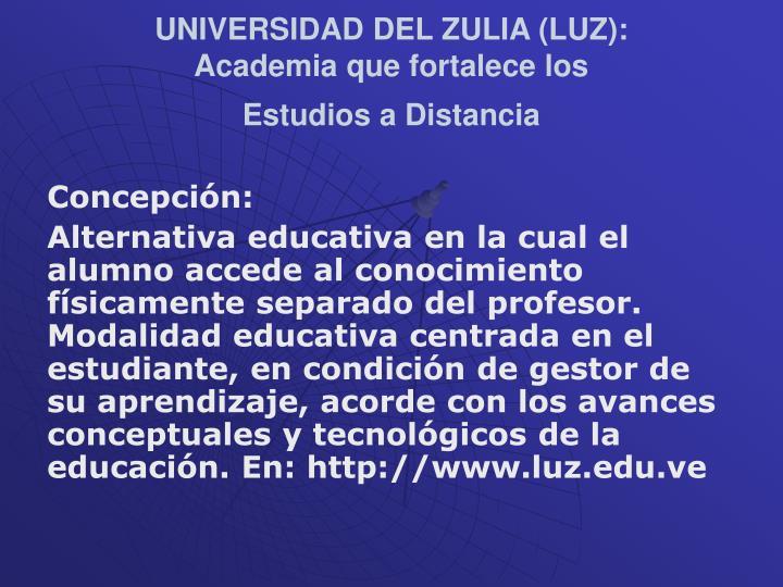 UNIVERSIDAD DEL ZULIA (LUZ):