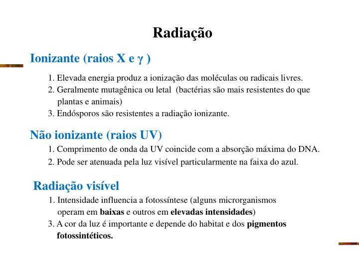 Radiação