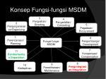 konsep fungsi fungsi msdm