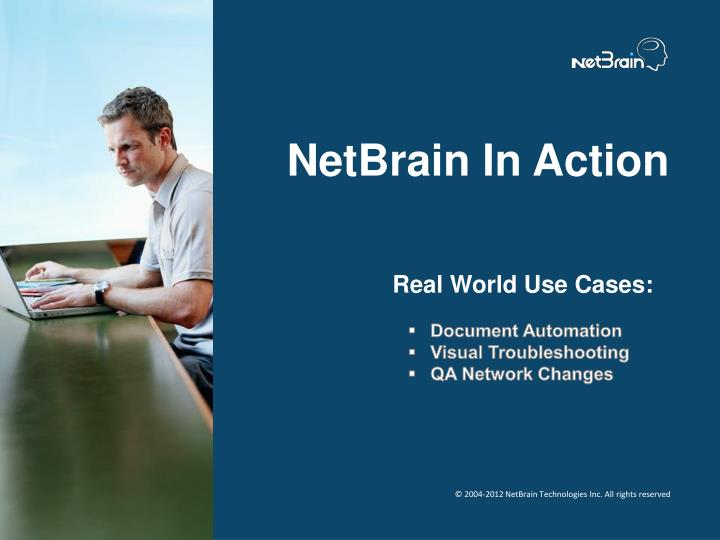 Netbrain in action