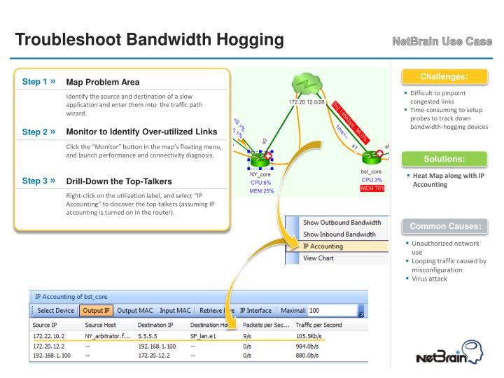 Troubleshoot Bandwidth Hogging