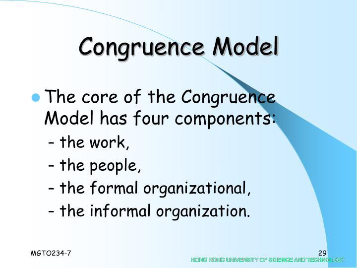 Congruence Model