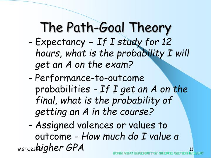 The Path-Goal Theory