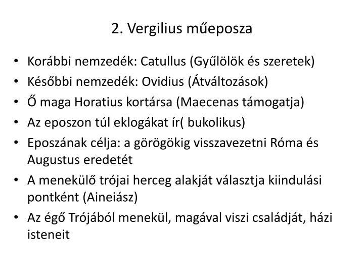 2. Vergilius műeposza