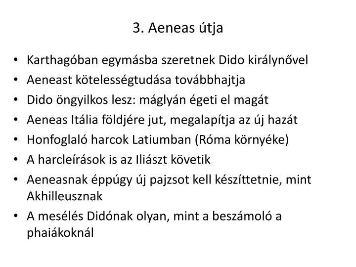 3. Aeneas útja