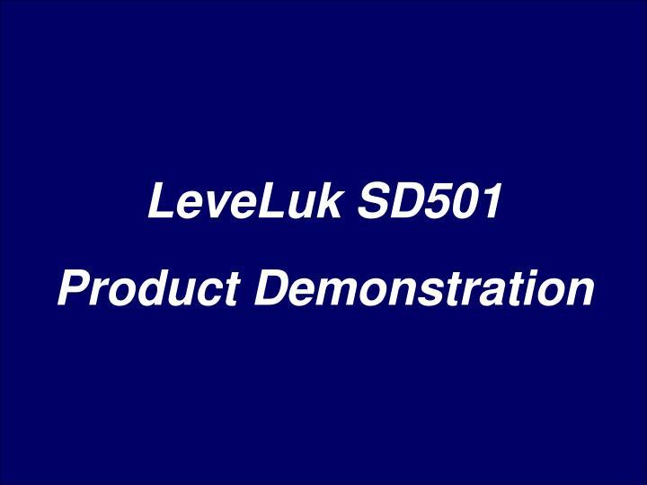 LeveLuk SD501
