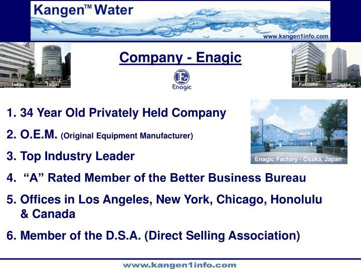Company - Enagic