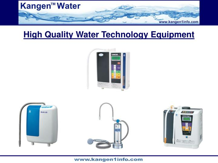High Quality Water Technology Equipment