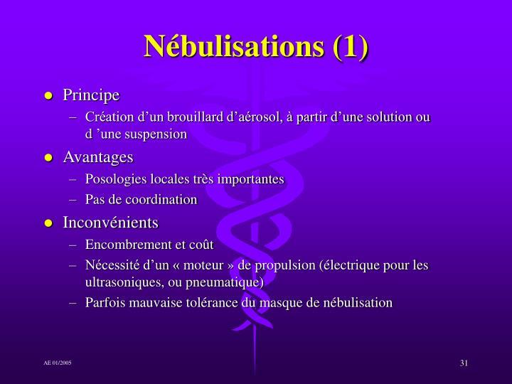 Nébulisations (1)
